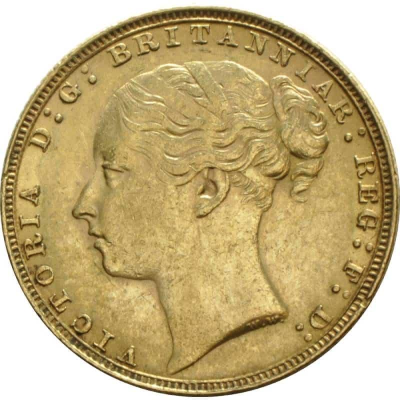 1885 Βικτώρια (Νομισματοκοπείο Λονδίνου)