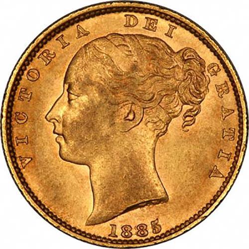 1885 Βικτώρια – Θυρεός (Νομισματοκοπείο Σίδνεϊ)