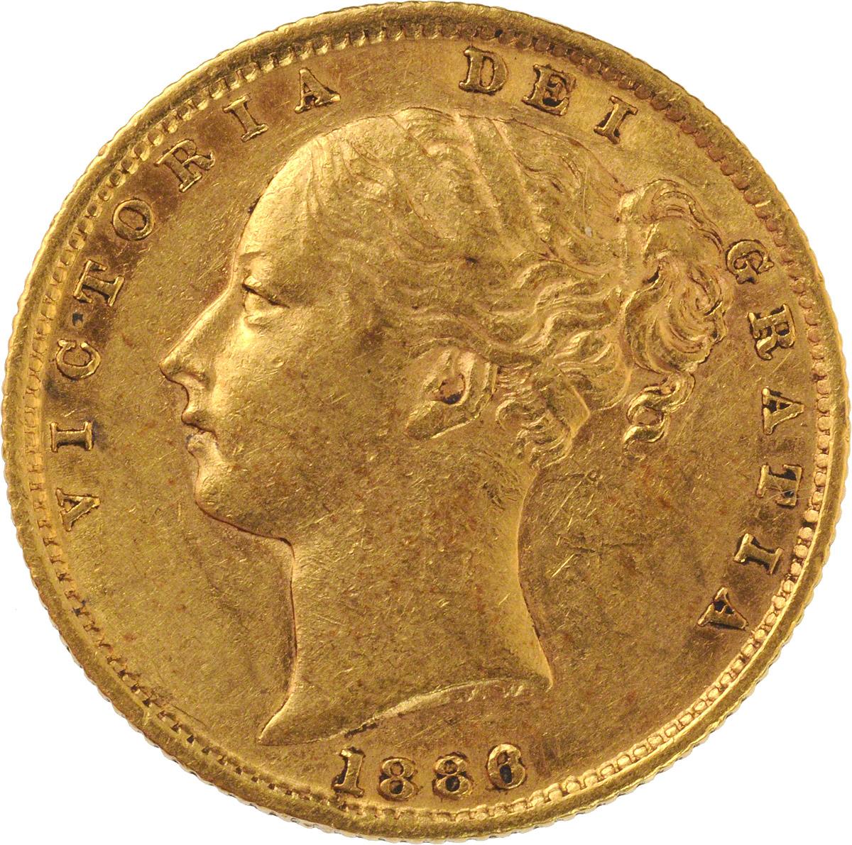 Victoria Young Head Shield Sydney Mint