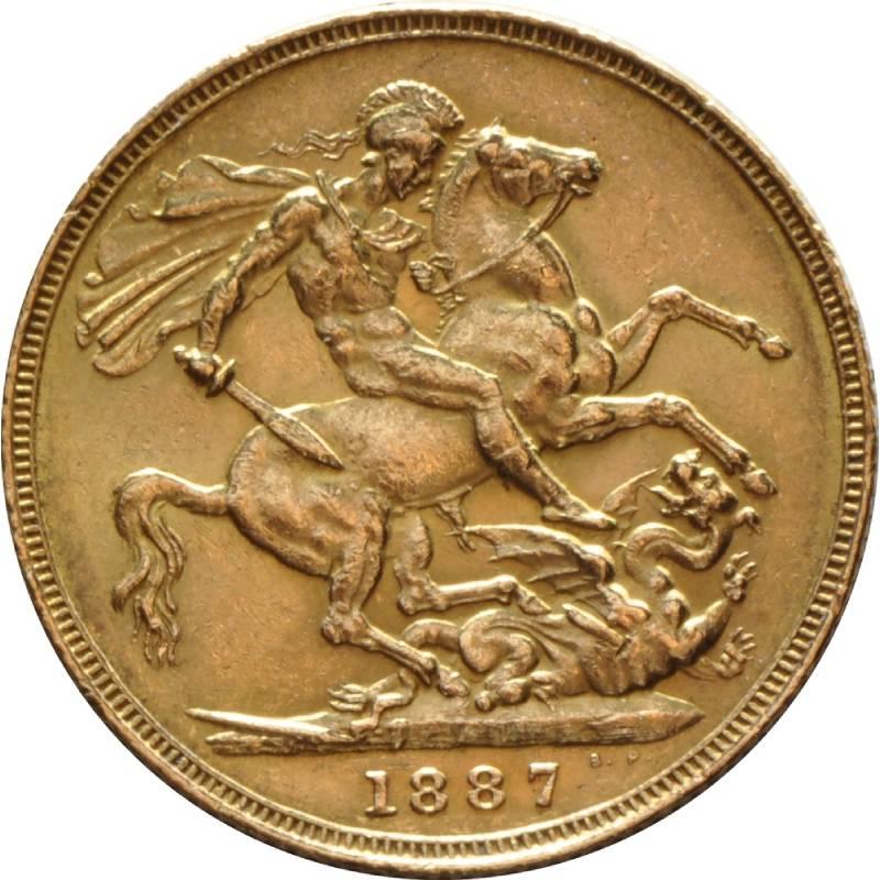 1887 Βικτώρια – Ιωβηλαίο (Νομισματοκοπείο Λονδίνου)