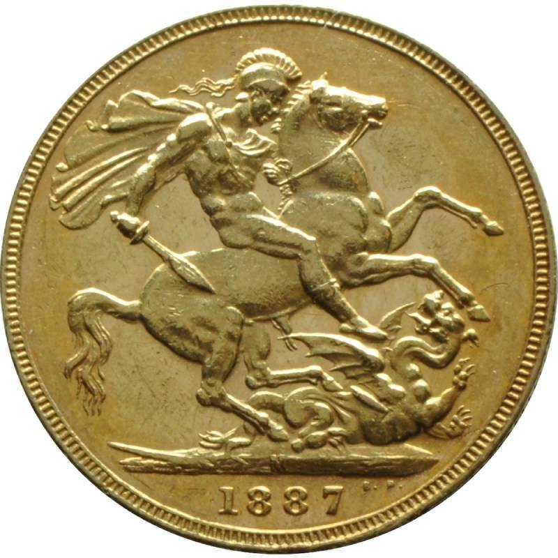 1887 Βικτώρια – Ιωβηλαίο (Νομισματοκοπείο Μελβούρνης)