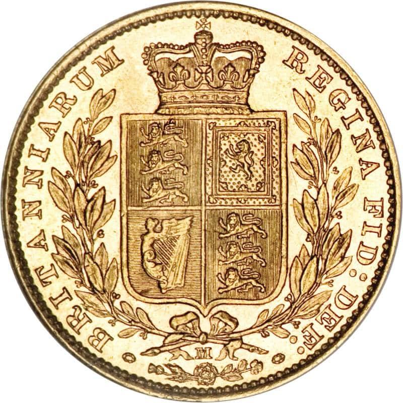 1887 Βικτώρια – Θυρεός (Νομισματοκοπείο Μελβούρνης)