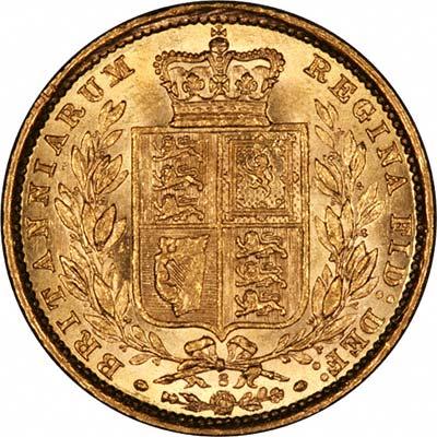 1887 Βικτώρια – Θυρεός (Νομισματοκοπείο Σίδνεϊ)