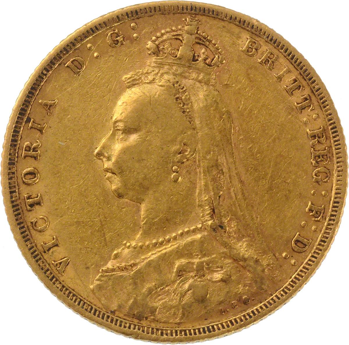 1889 Βικτώρια (Νομισματοκοπείο Μελβούρνης)