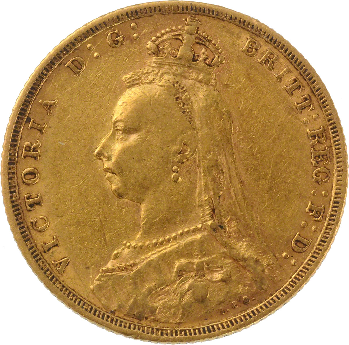 Victoria Jubilee Head St George Melbourne Mint