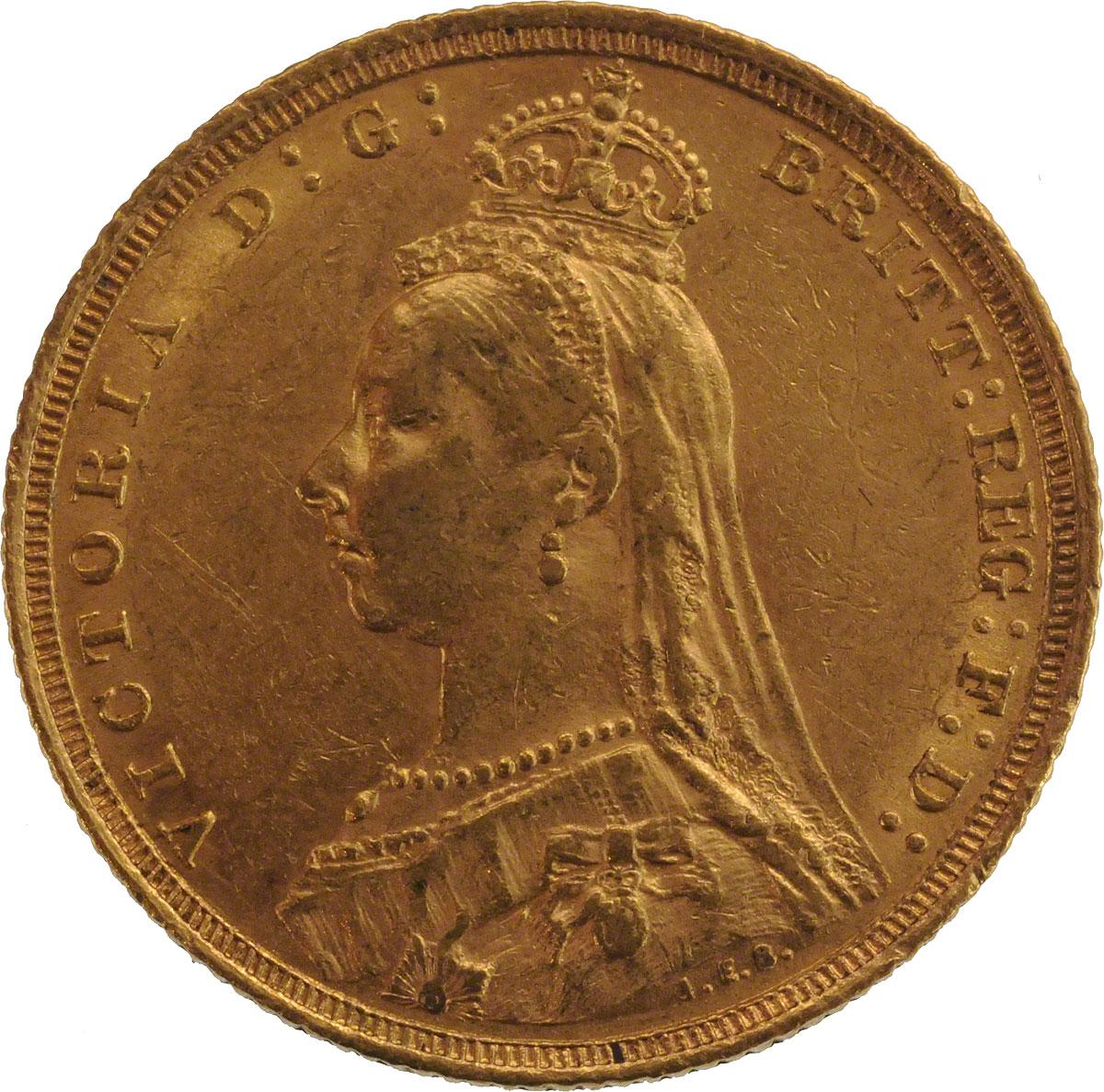 1889 Βικτώρια (Νομισματοκοπείο Σίδνεϊ)