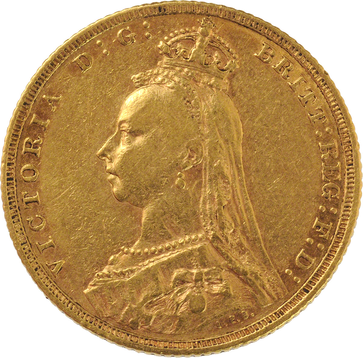 Victoria Jubilee Head St George Melbourne Mint