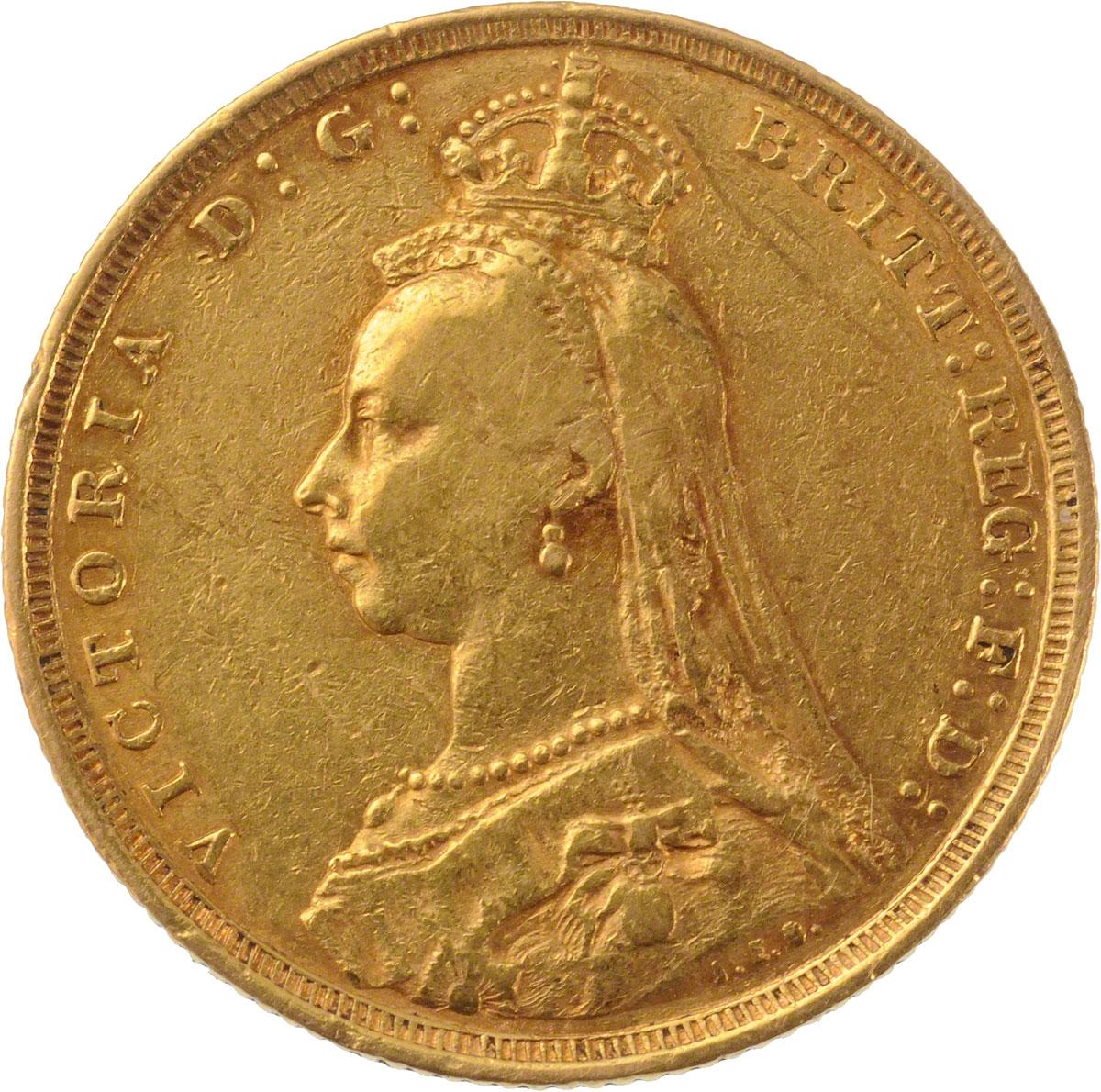 1890 Βικτώρια (Νομισματοκοπείο Σίδνεϊ)