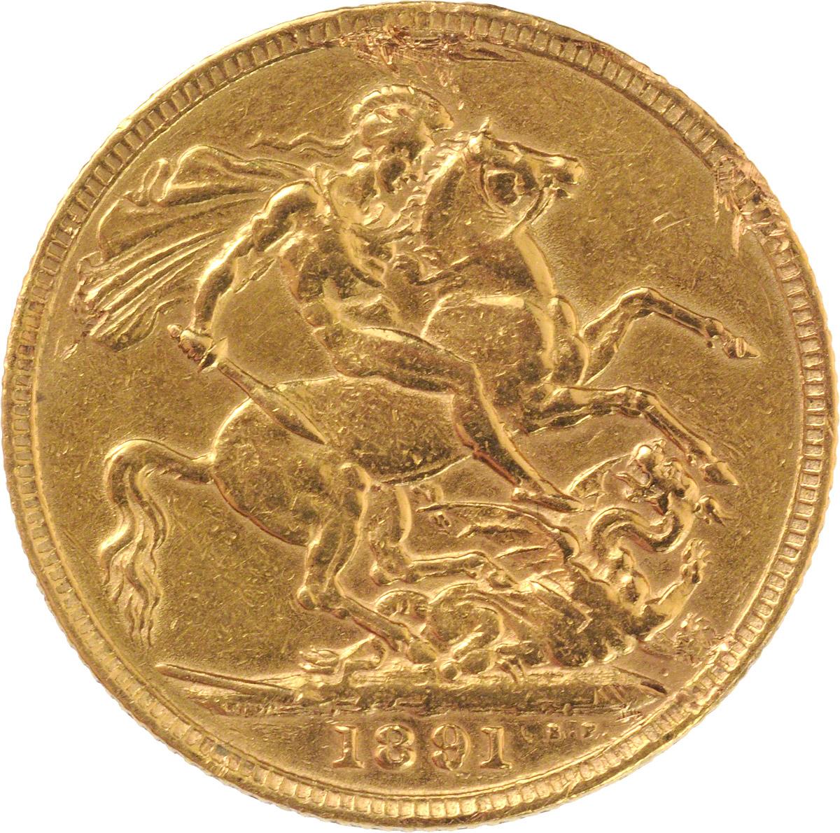 Victoria Jubilee Head St George London Mint
