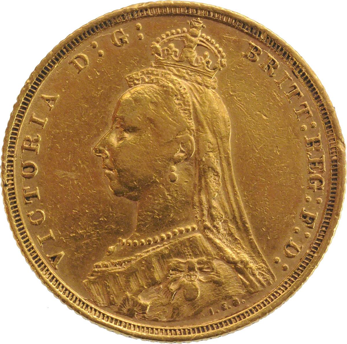 1891 Βικτώρια (Νομισματοκοπείο Σίδνεϊ)