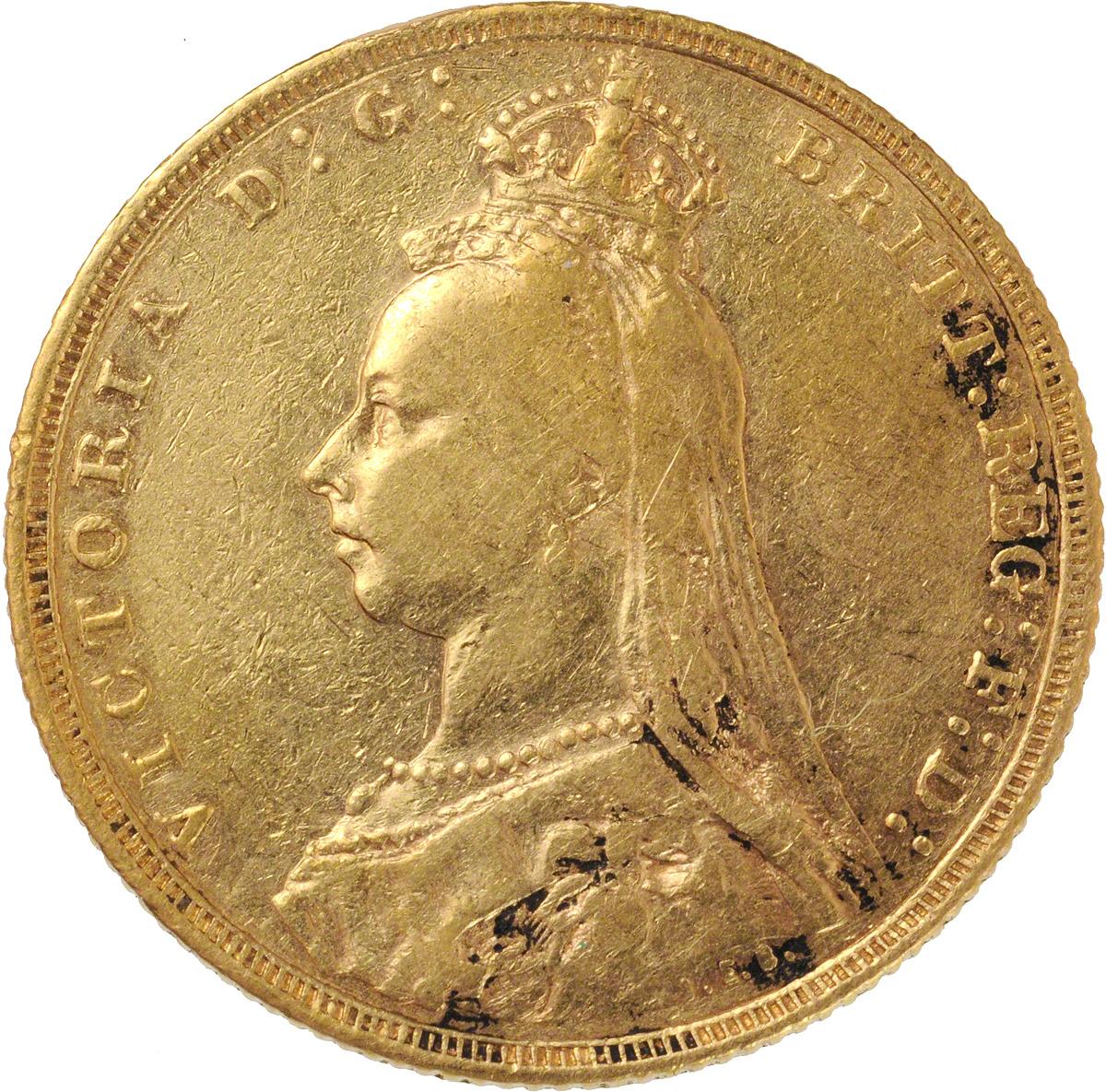 1892 Βικτώρια (Νομισματοκοπείο Λονδίνου)