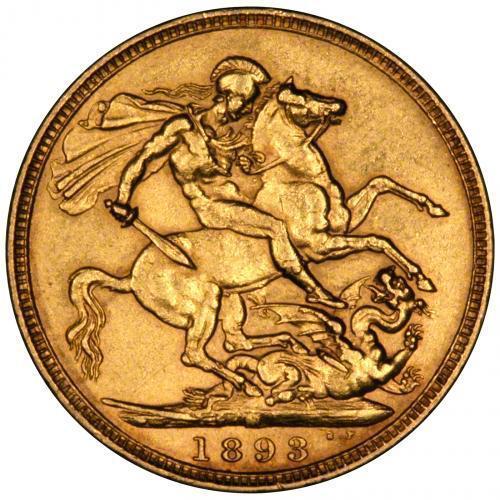 1893 Βικτώρια – Ιωβηλαίο (Νομισματοκοπείο Μελβούρνης)