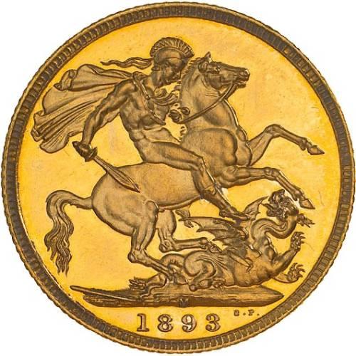 1893 Βικτώρια (Νομισματοκοπείο Μελβούρνης)