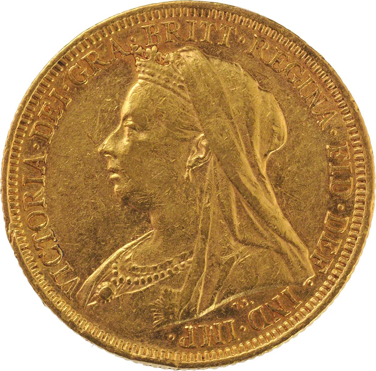 1894 Βικτώρια (Νομισματοκοπείο Λονδίνου)
