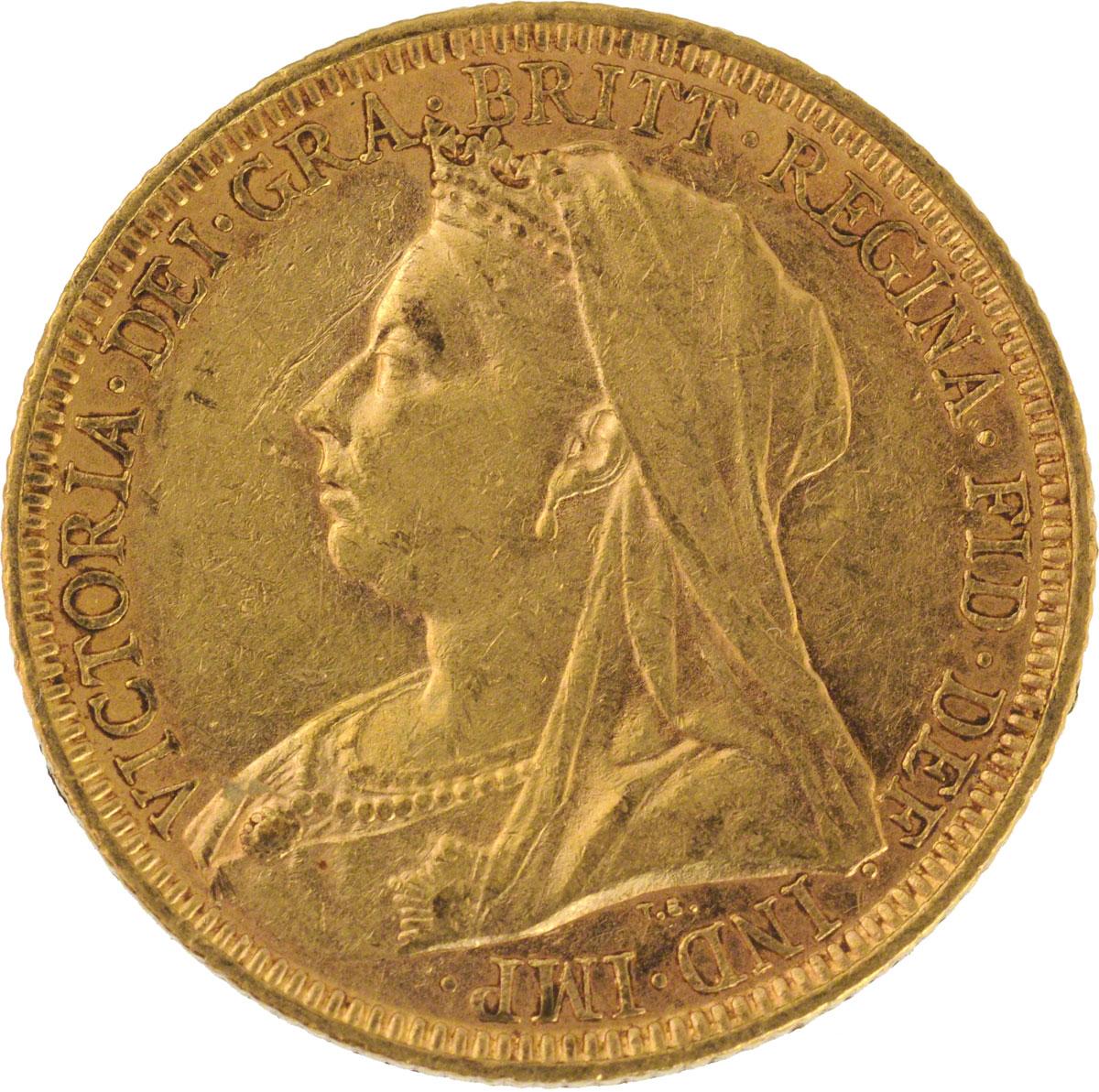 Victoria Veiled Head St George Melbourne Mint