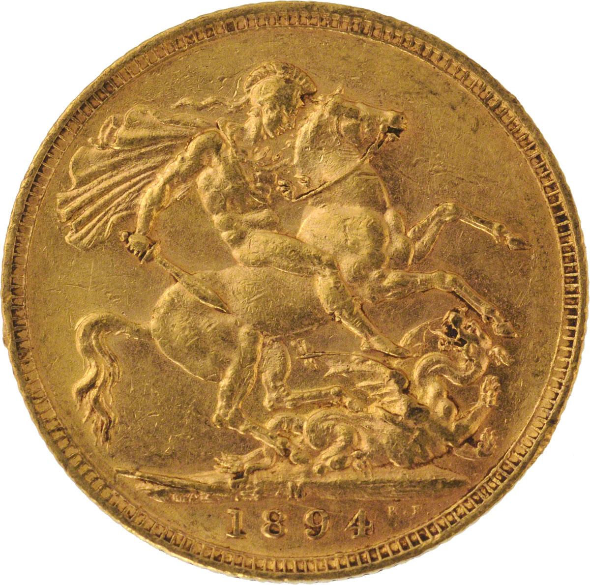 1894 Βικτώρια (Νομισματοκοπείο Μελβούρνης)