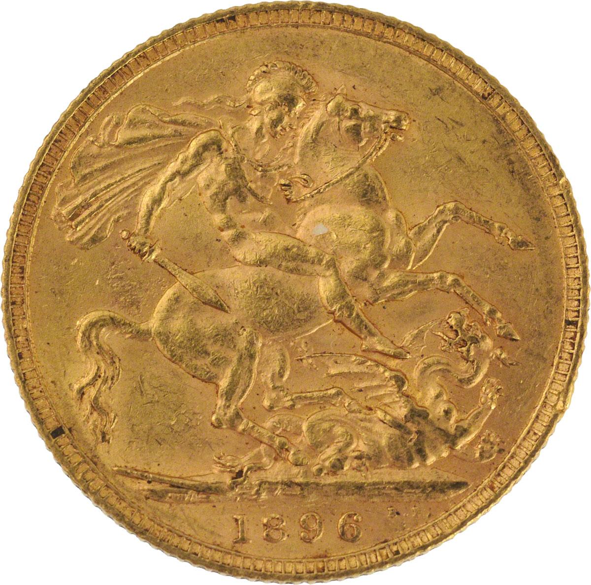 1896 Βικτώρια (Νομισματοκοπείο Λονδίνου)