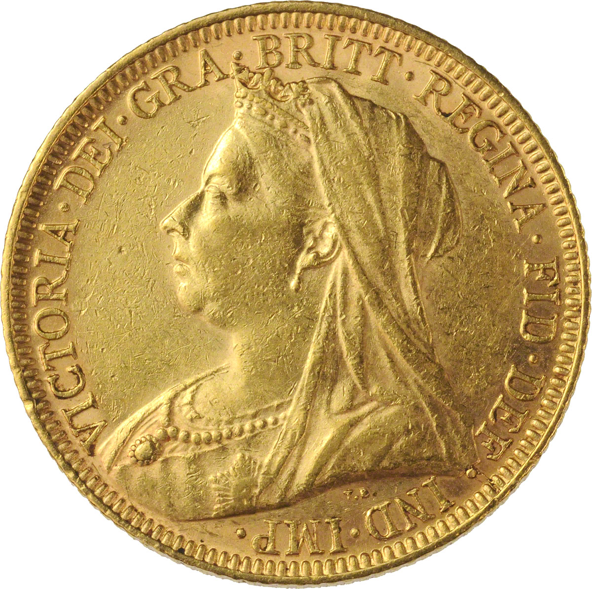 Victoria Veiled Head St George Melbourne Mint