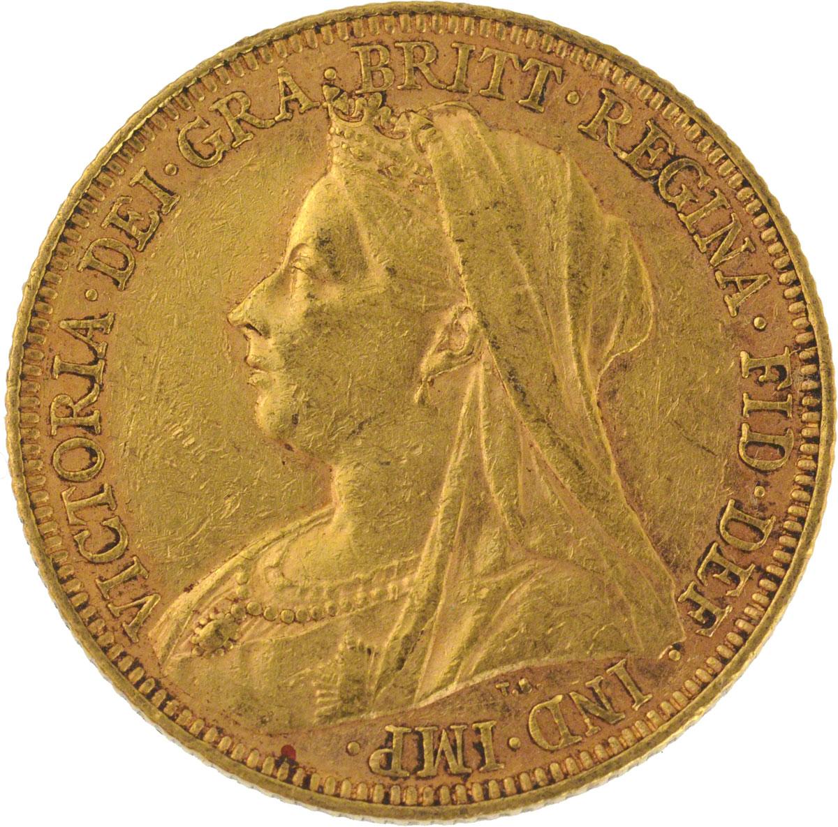1897 Βικτώρια (Νομισματοκοπείο Μελβούρνης)
