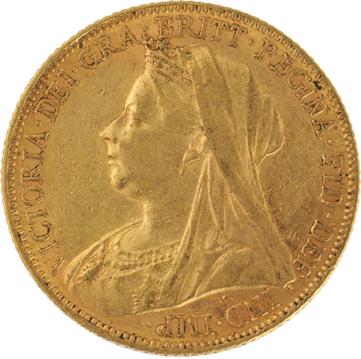 1898 Βικτώρια (Νομισματοκοπείο Μελβούρνης)