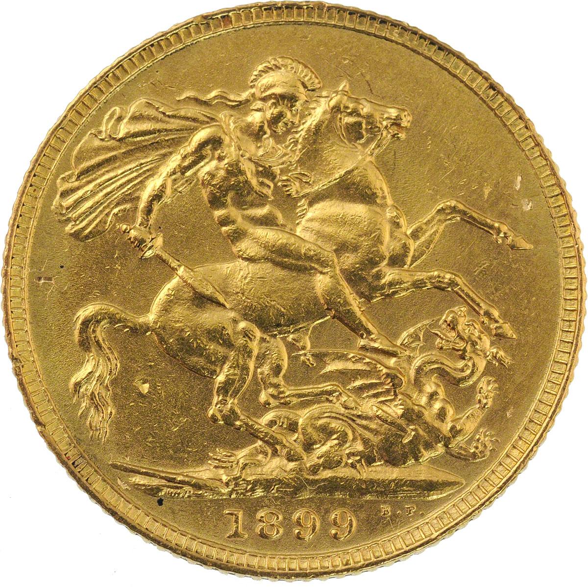 1899 Βικτώρια (Νομισματοκοπείο Λονδίνου)