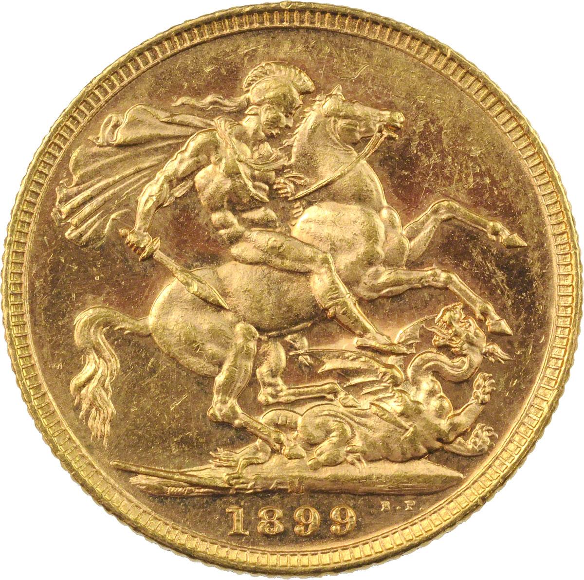 1899 Βικτώρια (Νομισματοκοπείο Μελβούρνης)