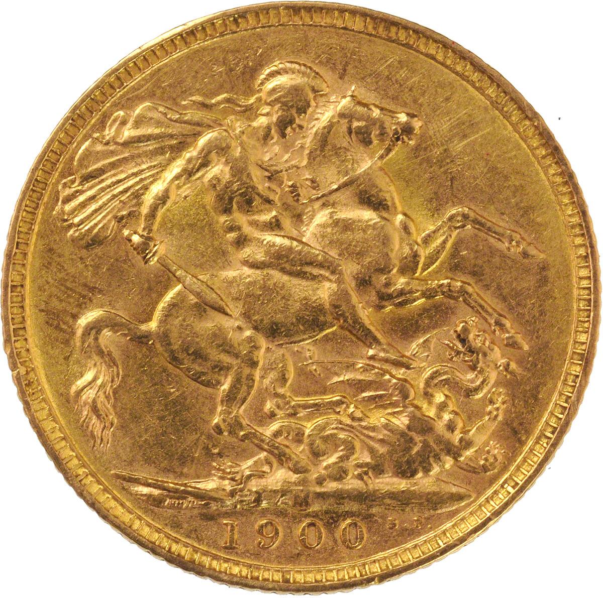 1900 Βικτώρια (Νομισματοκοπείο Μελβούρνης)