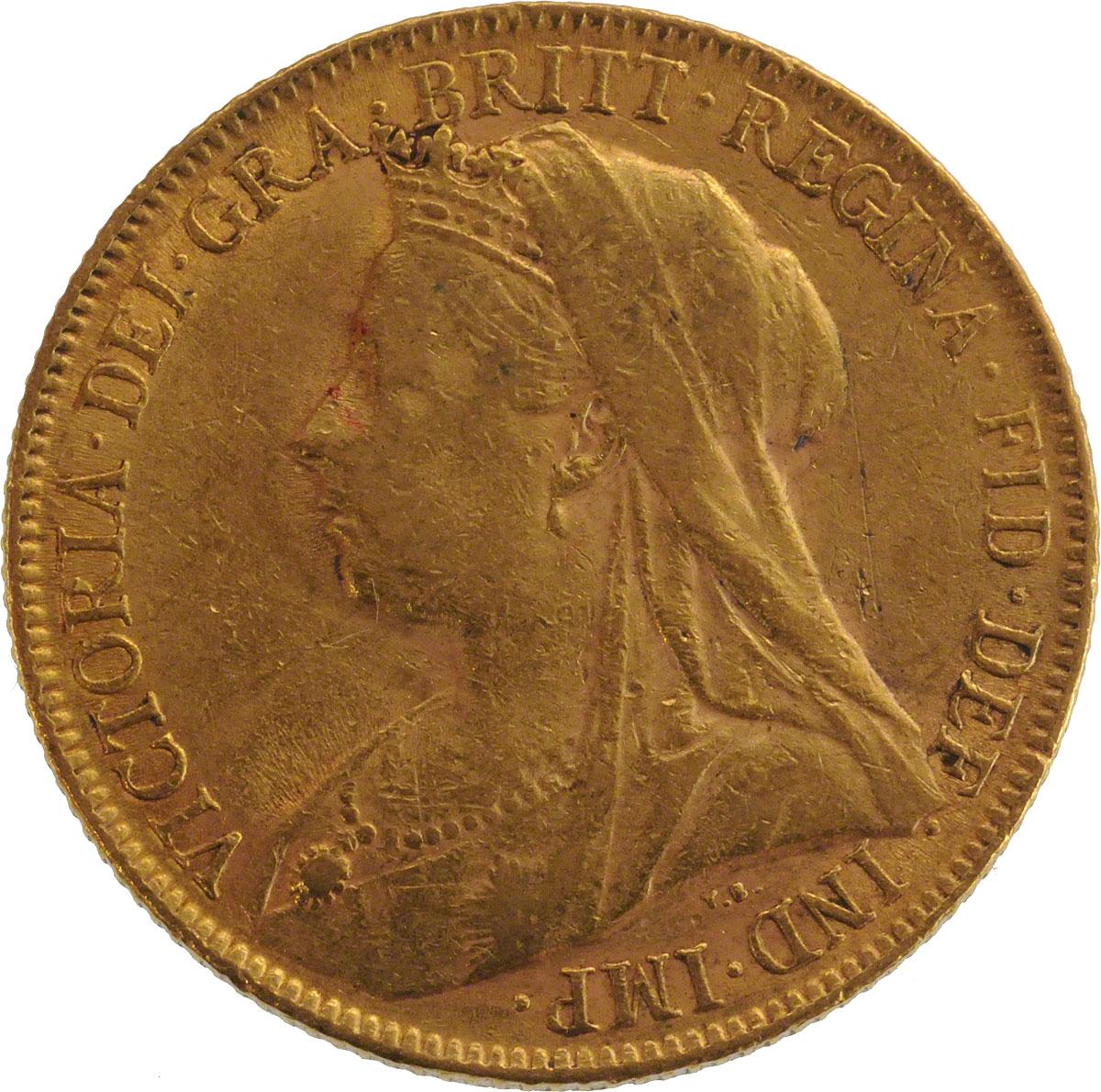 1900 Βικτώρια (Νομισματοκοπείο Περθ)