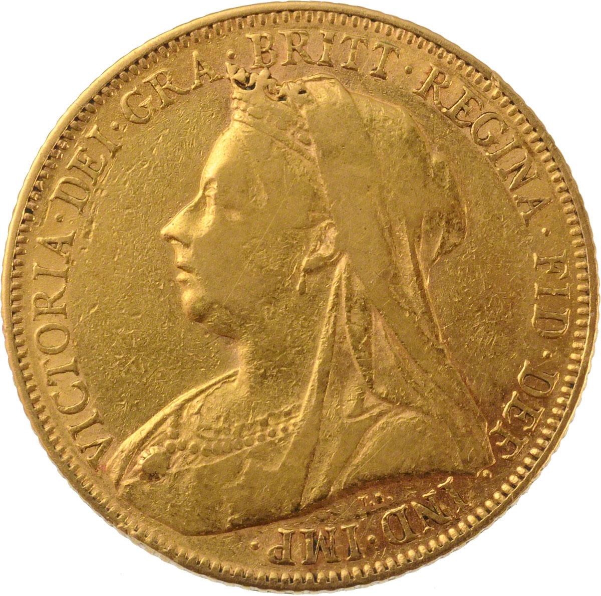 1901 Βικτώρια (Νομισματοκοπείο Λονδίνου)