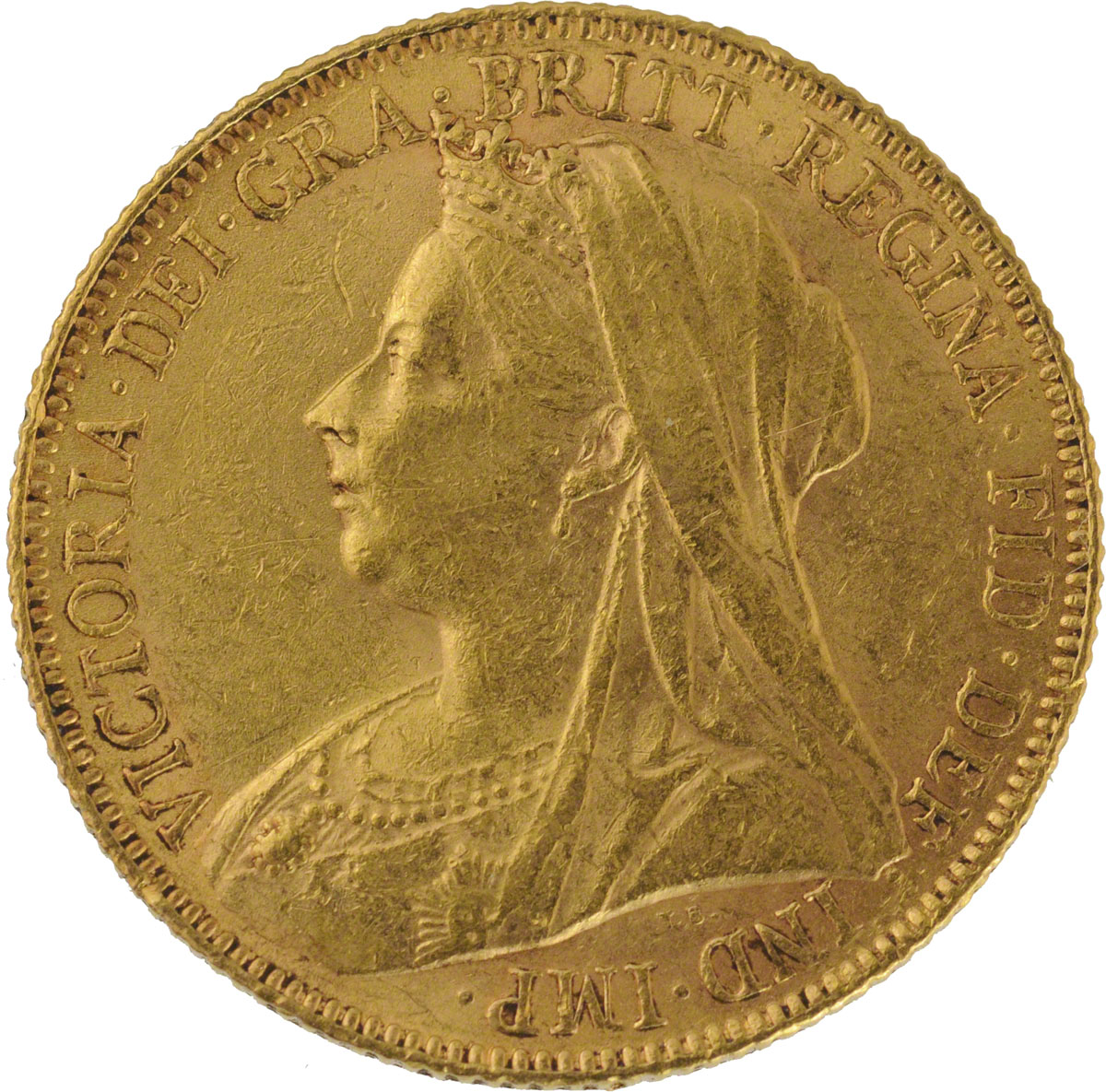 Victoria Veiled Head St George Perth Mint