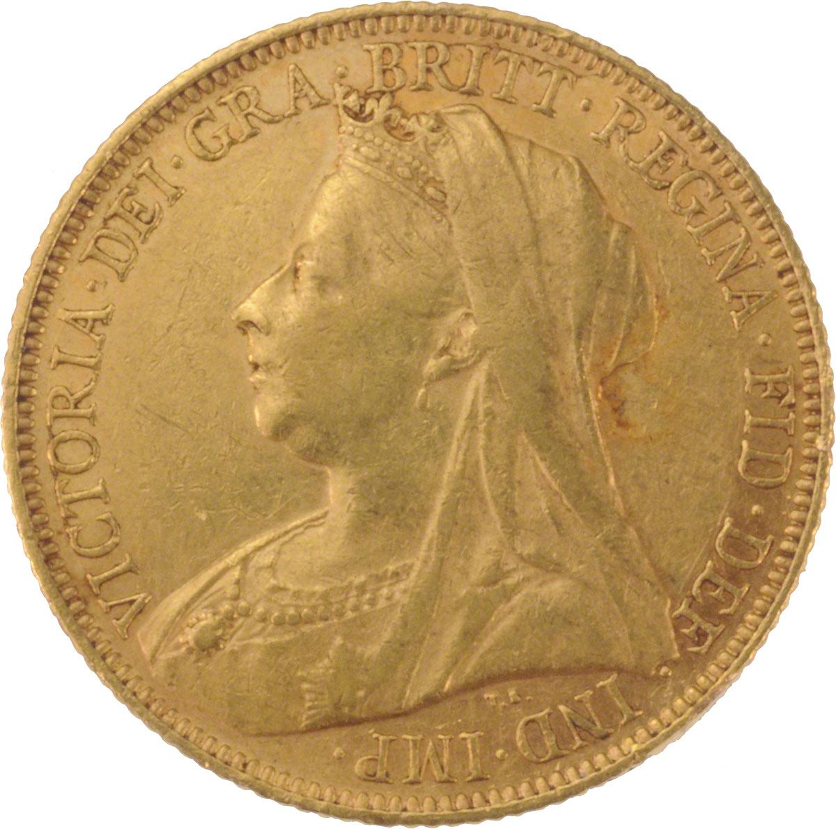 1901 Βικτώρια (Νομισματοκοπείο Σίδνεϊ)