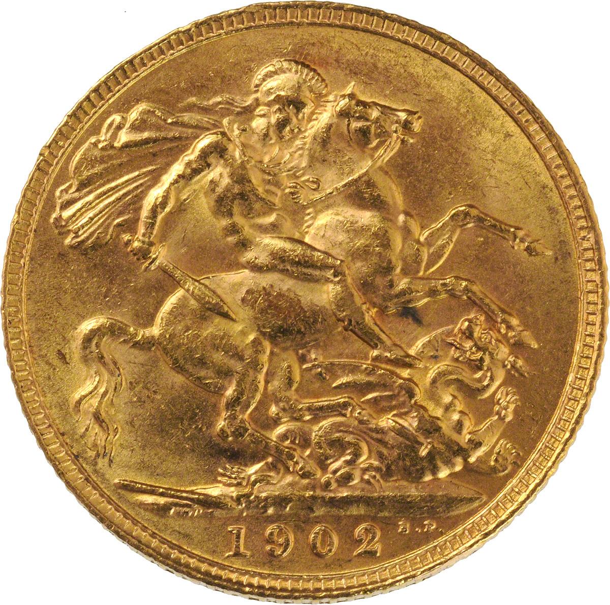 1902 Εδουάρδος Ζ' (Νομισματοκοπείο Λονδίνου)