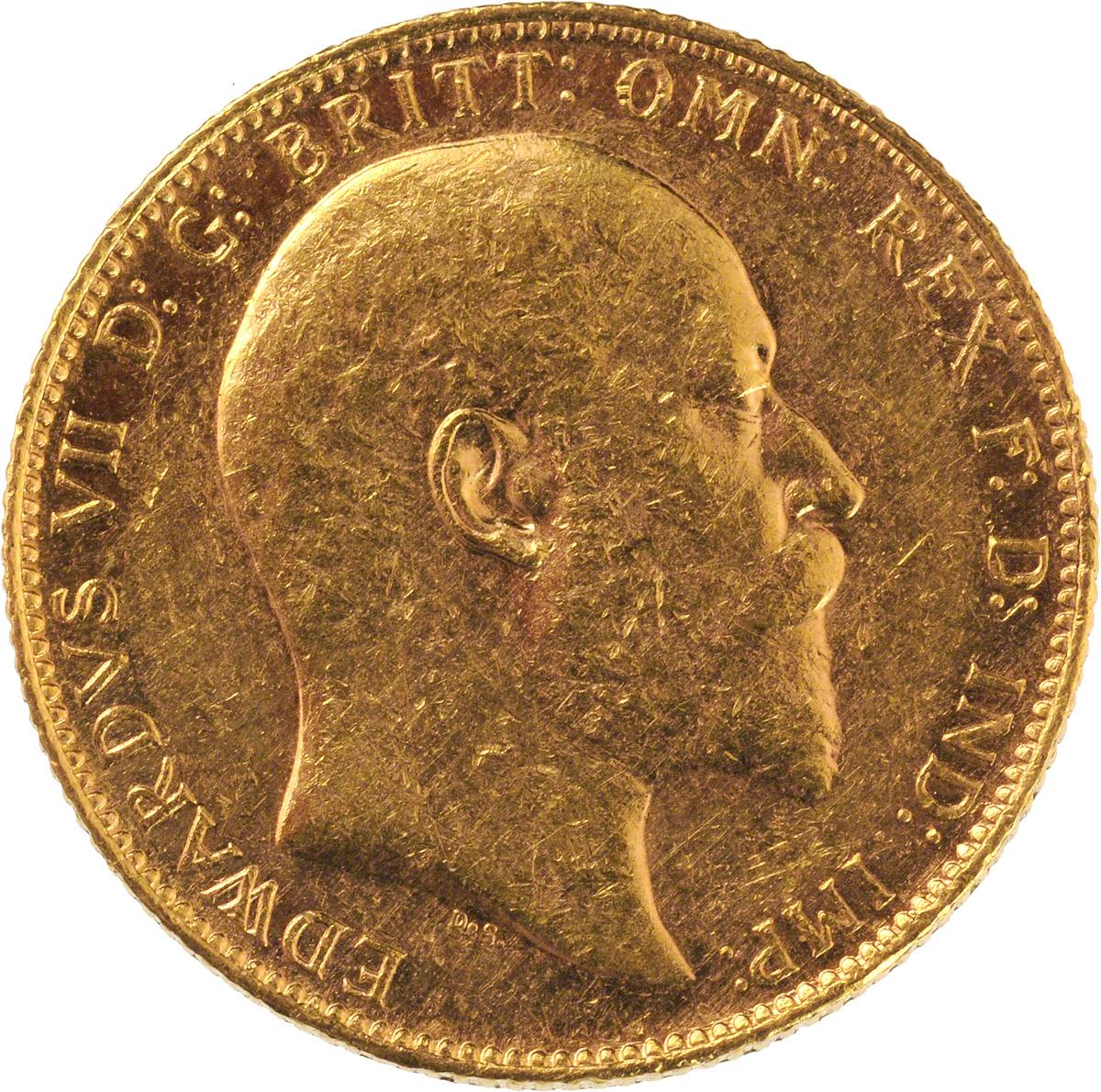 1902 Εδουάρδος Ζ' (Νομισματοκοπείο Περθ)