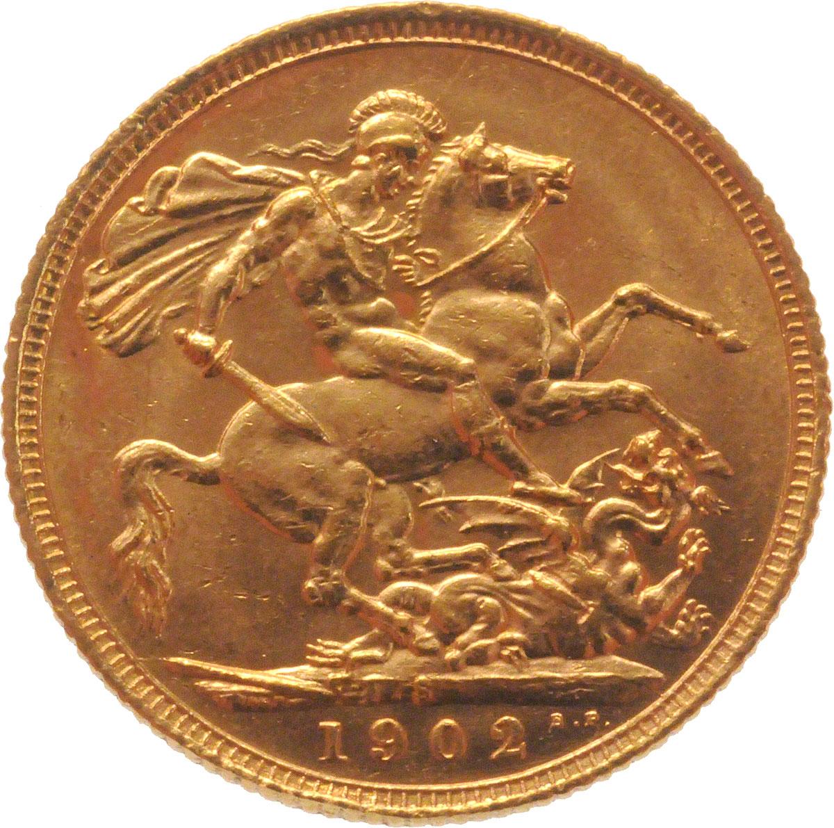1902 Εδουάρδος Ζ' (Νομισματοκοπείο Σίδνεϊ)