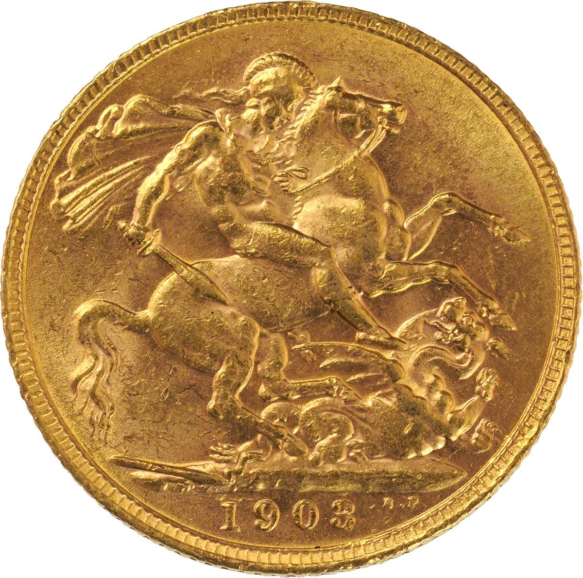 1903 Εδουάρδος Ζ' (Νομισματοκοπείο Λονδίνου)
