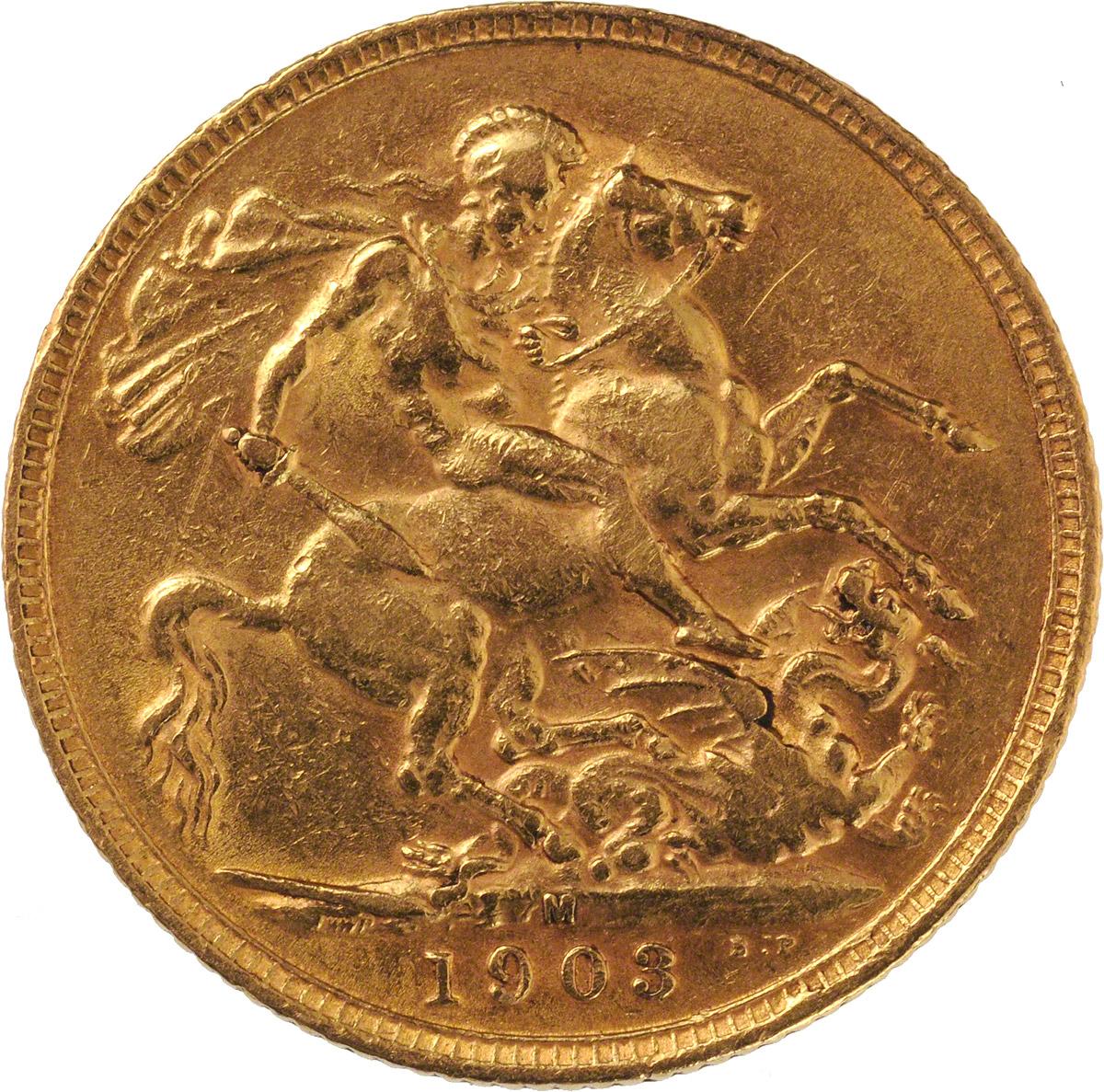 1903 Εδουάρδος Ζ' (Νομισματοκοπείο Μελβούρνης)
