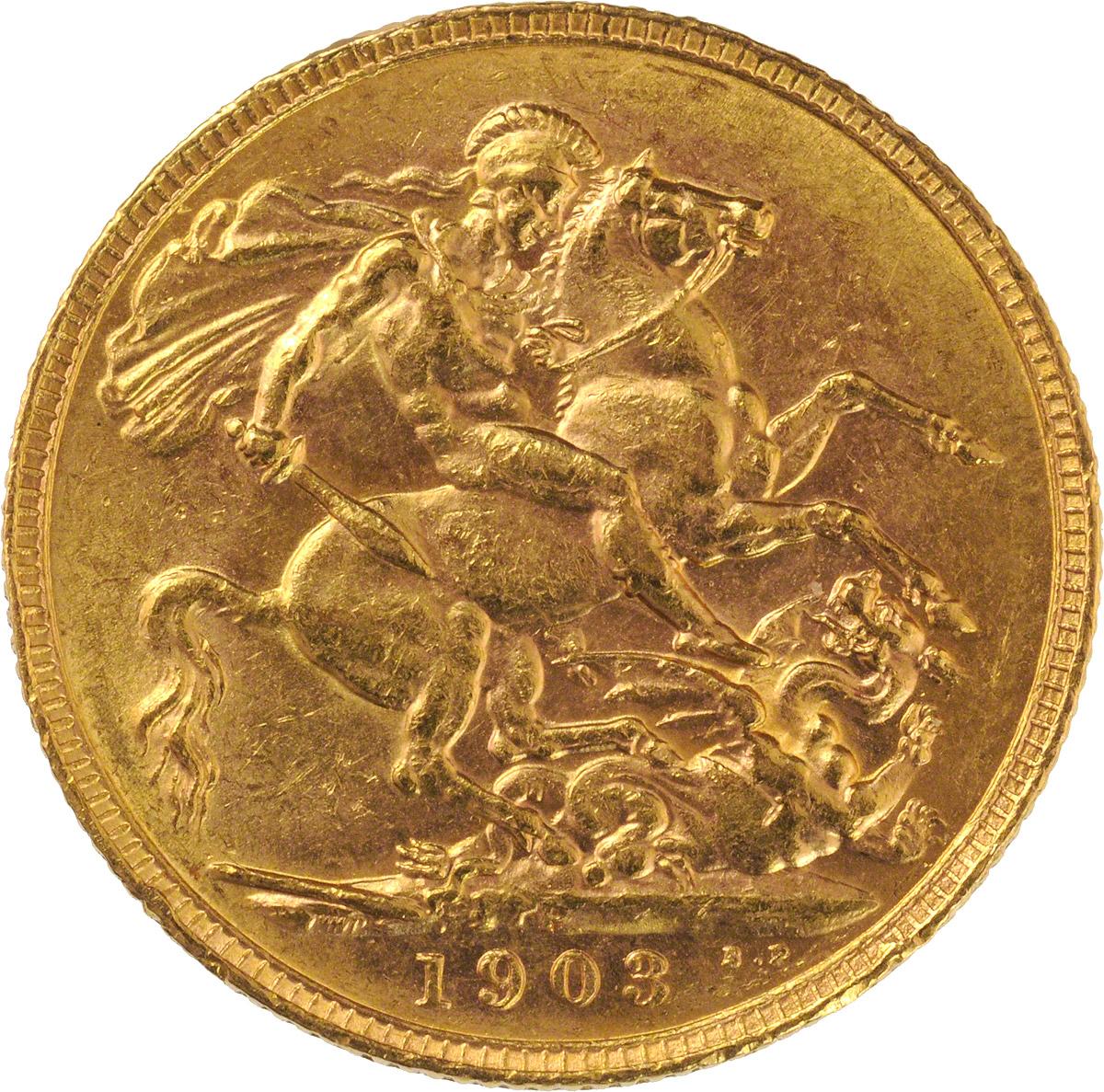 1903 Εδουάρδος Ζ' (Νομισματοκοπείο Περθ)