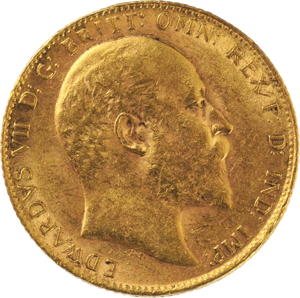 1904 Εδουάρδος Ζ' (Νομισματοκοπείο Λονδίνου)