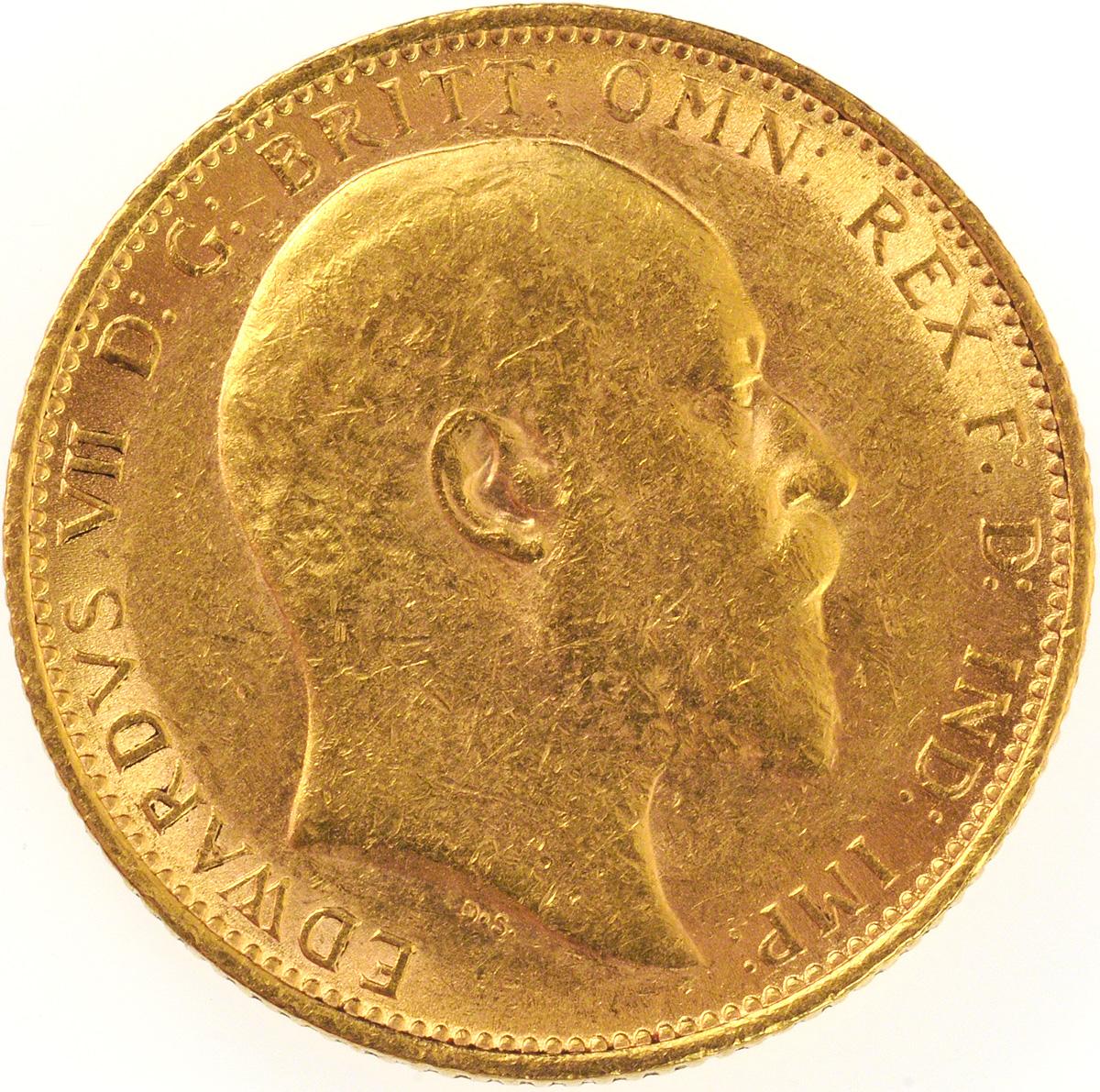 1905 Εδουάρδος Ζ' (Νομισματοκοπείο Λονδίνου)