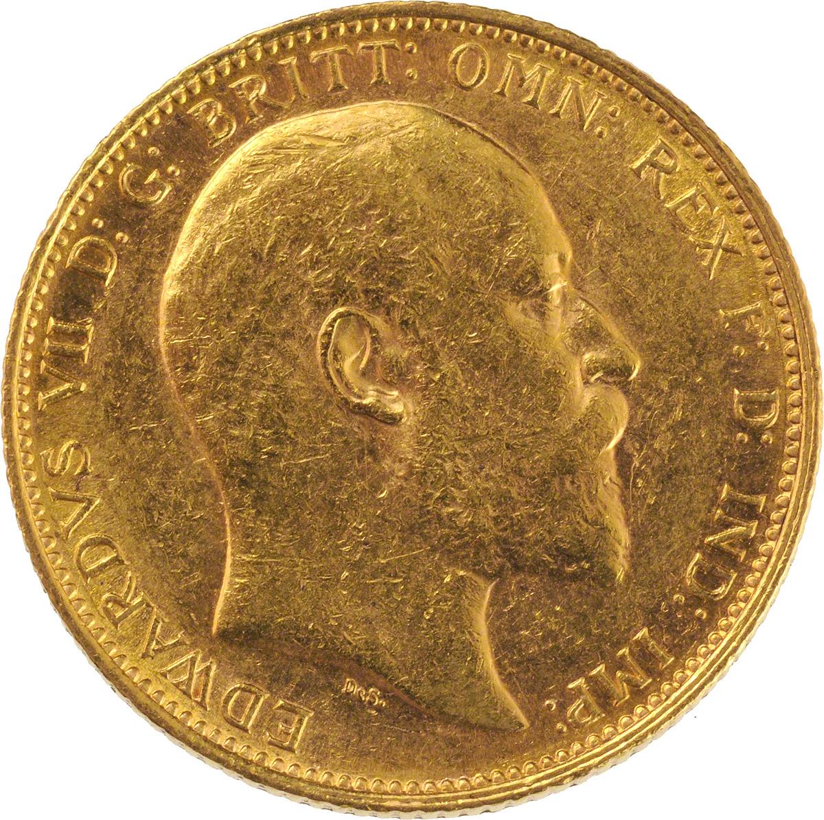 1905 Εδουάρδος Ζ' (Νομισματοκοπείο Μελβούρνης)