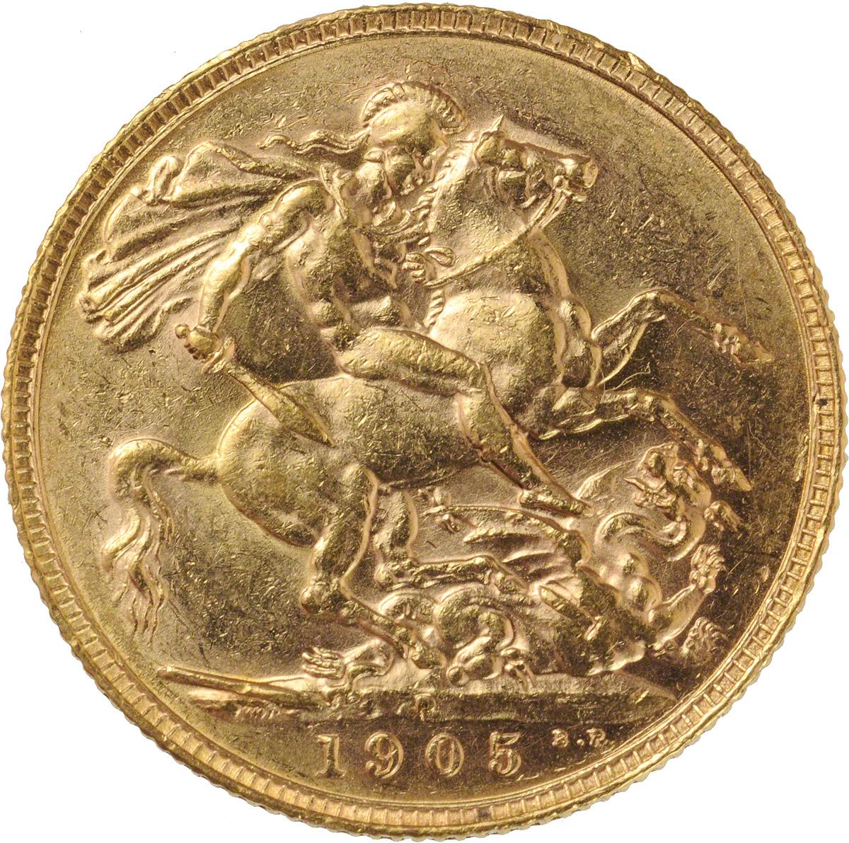 1905 Εδουάρδος Ζ' (Νομισματοκοπείο Περθ)
