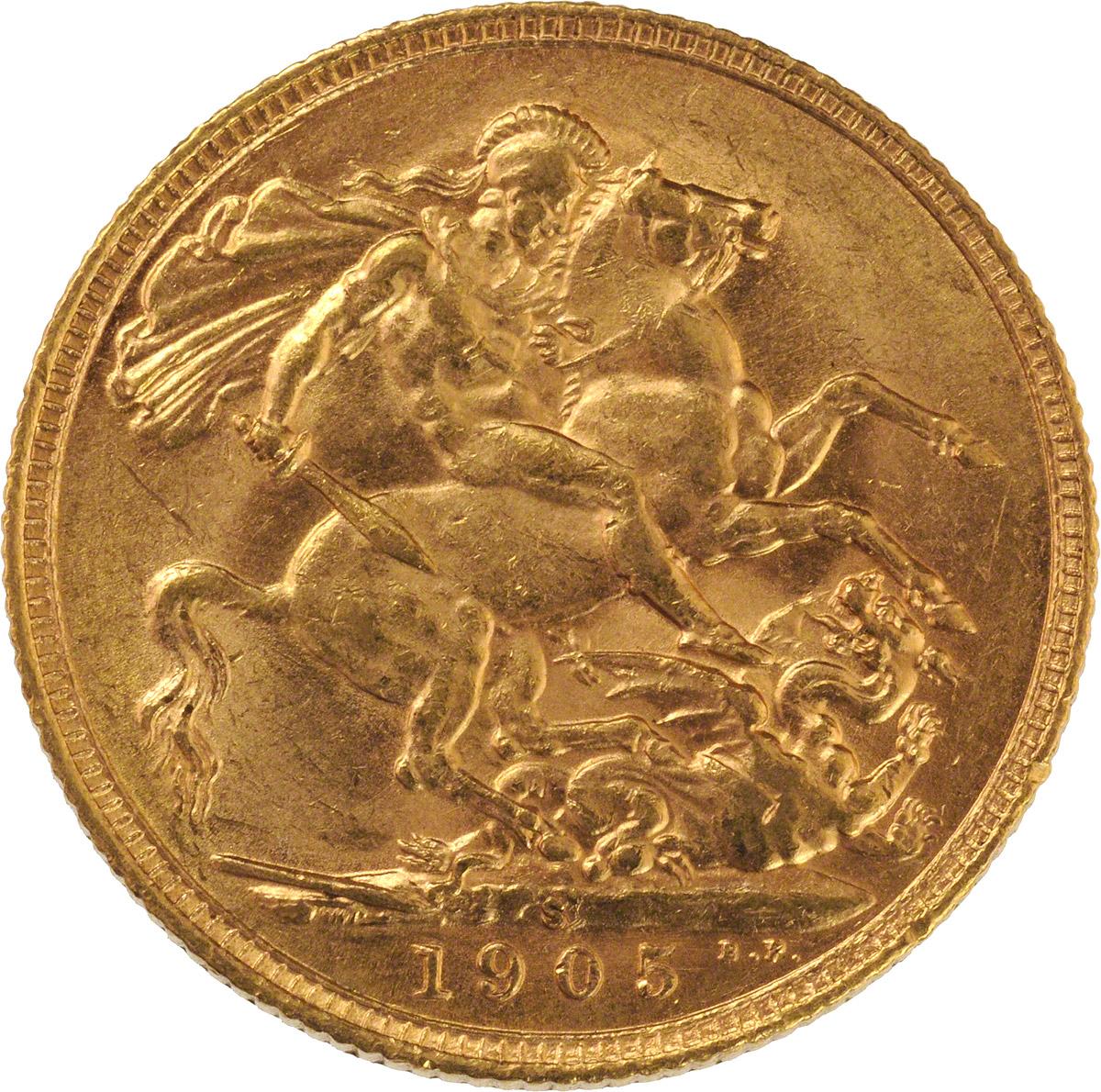 1905 Εδουάρδος Ζ' (Νομισματοκοπείο Σίδνεϊ)