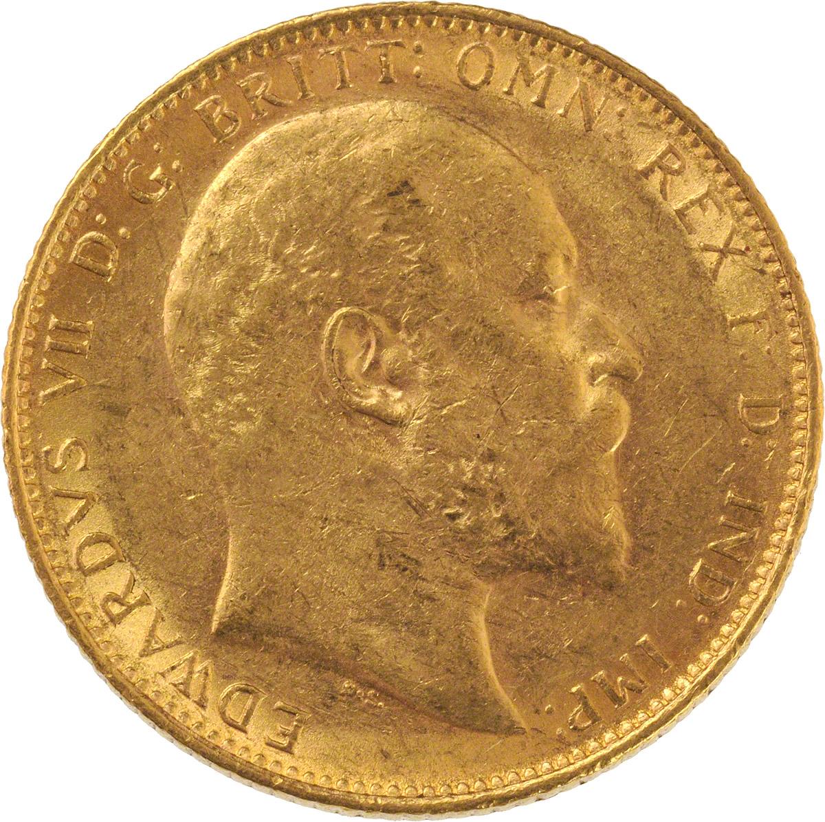 1906 Εδουάρδος Ζ' (Νομισματοκοπείο Μελβούρνης)
