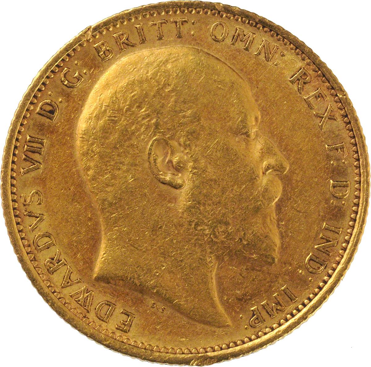 1906 Εδουάρδος Ζ' (Νομισματοκοπείο Σίδνεϊ)