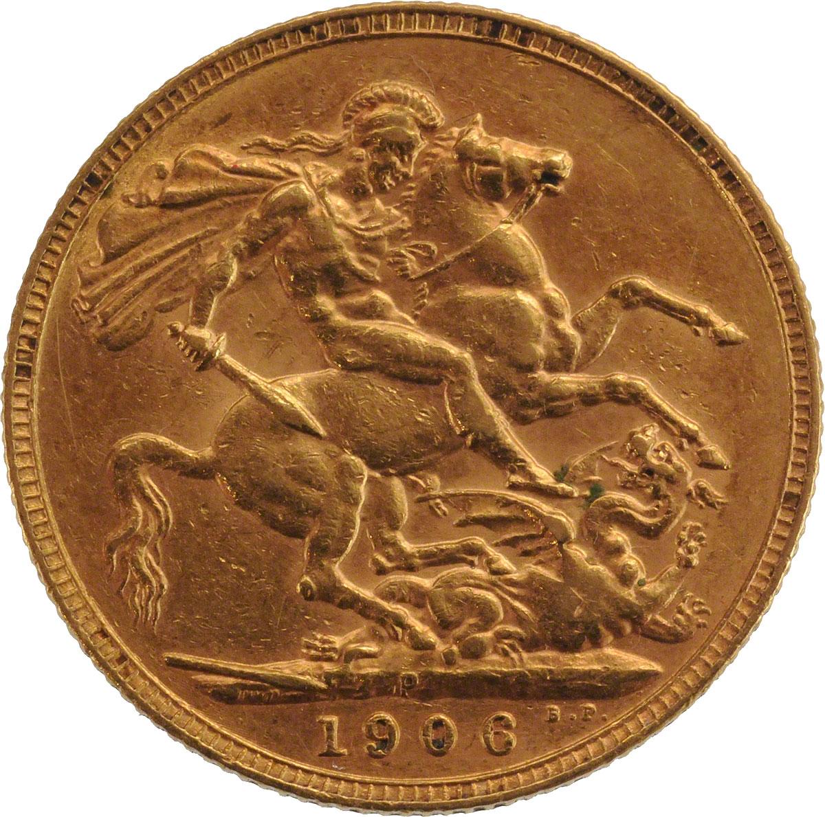 1906 Εδουάρδος Ζ' (Νομισματοκοπείο Περθ)