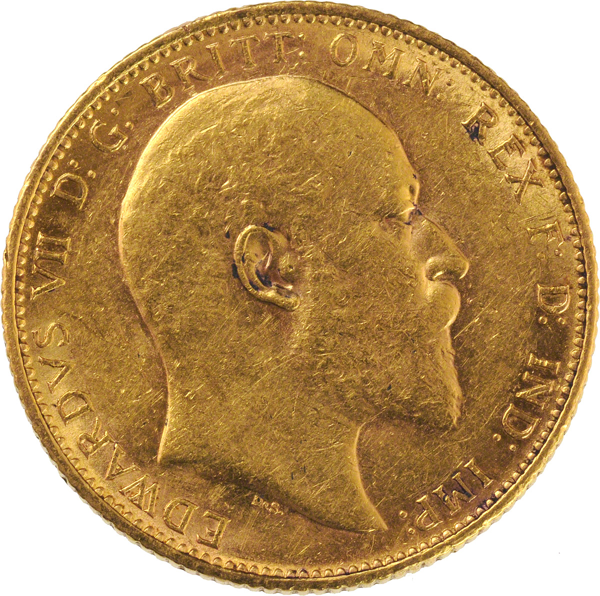 1907 Εδουάρδος Ζ' (Νομισματοκοπείο Μελβούρνης)