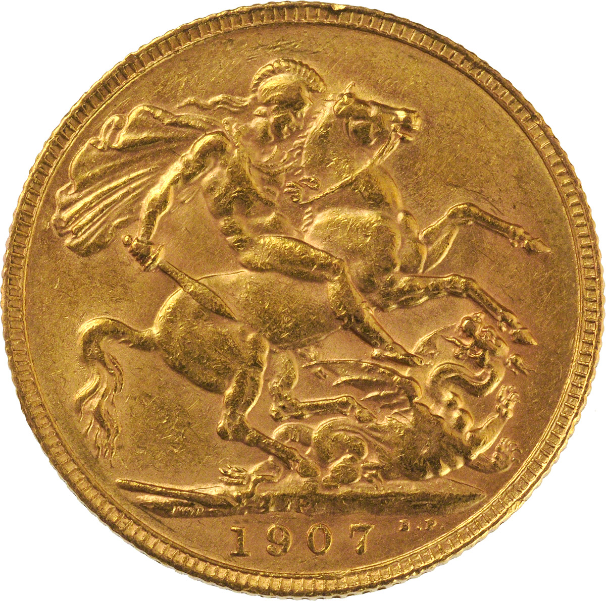 1907 Εδουάρδος Ζ' (Νομισματοκοπείο Περθ)