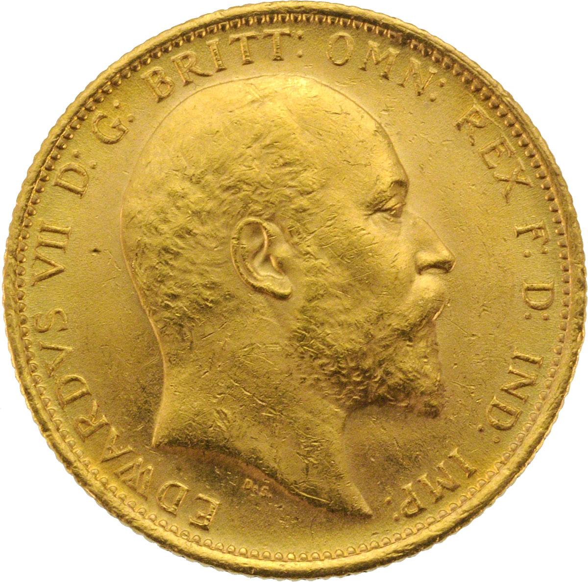 1907 Εδουάρδος Ζ' (Νομισματοκοπείο Σίδνεϊ)