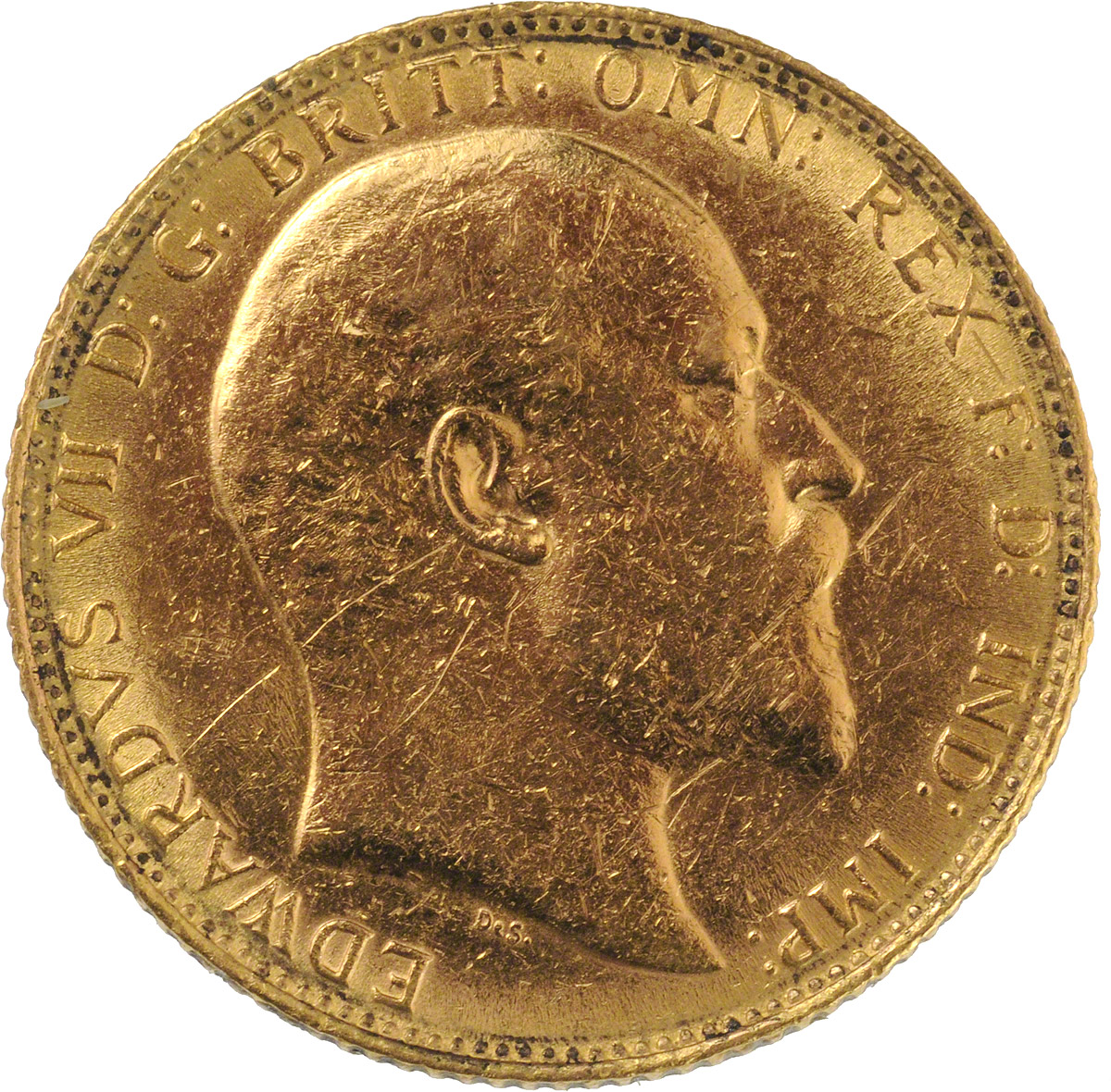 1908 Εδουάρδος Ζ' (Νομισματοκοπείο Λονδίνου)