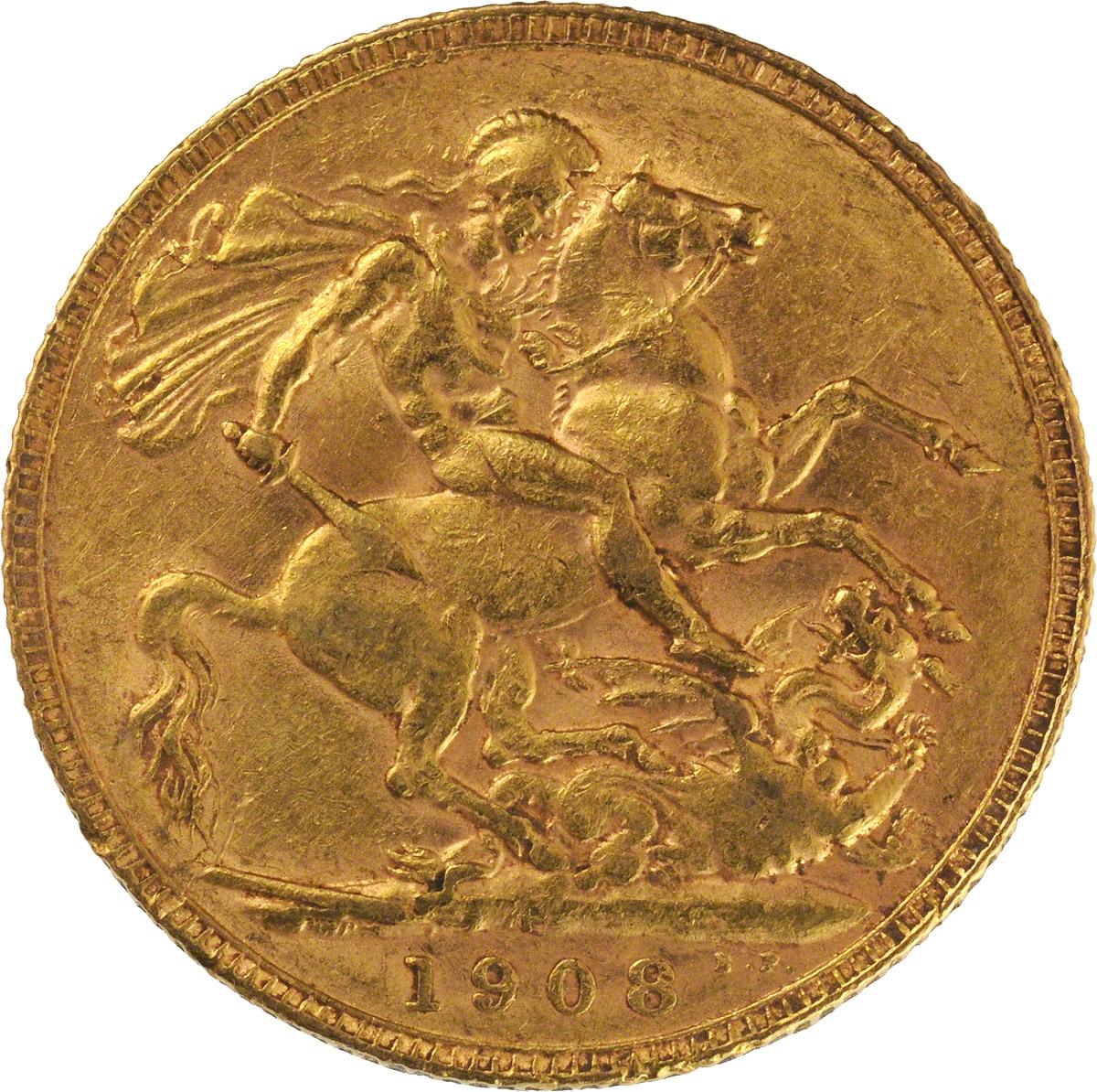 1908 Εδουάρδος Ζ' (Νομισματοκοπείο Περθ)